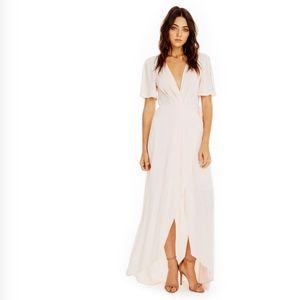 ASTR the Label Selma Maxi Dress Blush